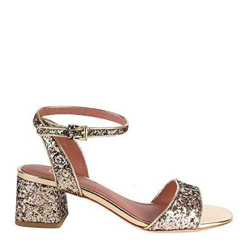 Ash OPIUM Sandals Gold Glitter 37 Gold