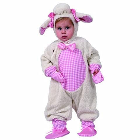 Dress Up America Grazing Lamb, Pink/Beige, 2 Toddler by Dress Up America