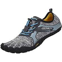 SAGUARO Barefoot Zapatillas de Trail Running Minimalistas Zapatillas de Deporte Exterior Interior Zapatos de Deportes Acuaticos