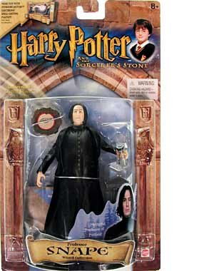Professor Snape (Alan Rickman) Action Figure - Harry Potter and the Philosopher's Stone (Harry Potter Professor Snape)