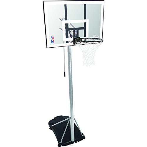 Spalding Basketballanlage NBA Silver Portable, transparent, 3001652010942