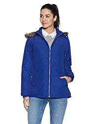 Fort Collins Womens Cape Hoodie (6628 AZ_royal blue_M)