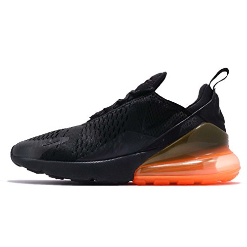 Nike Herren Air Max 270 Laufschuhe, Mehrfarbig (Black/Total Orange 008), 47.5 EU (Nike Total Orange)