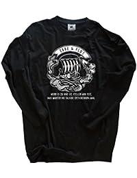 Original Viking-Shirts T-Shirt | Wenn es zu spät ist stellen wir fest-dass warten die falsche Entscheidung war | 100 % Baumwolle | bequem & hoher Tragekomfort