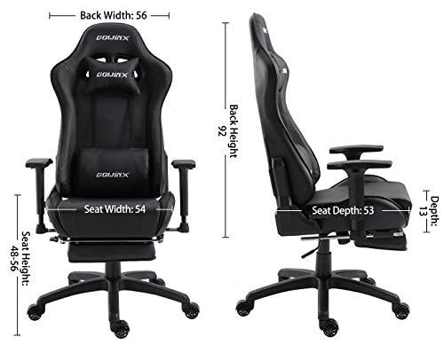 Sgabelli Ergonomici Per Computer : Dowinx sedia gaming poltrona ergonomica reclinabile per computer con