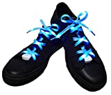 Lilware Dare to to Be Visible Shoelaces Schnürsenkel Mit LED Blinklicht...