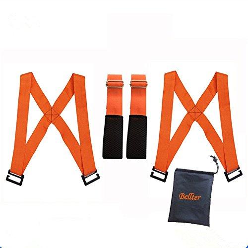 Move Seil Gürtel Heben und Lifting Straps für Möbel, TV, Betten, Kleiderschrank, schwere, Sperrige, Artikel, einfach Carry Möbel, Geräte, Matratzen, oder jede Aheavy Objekt