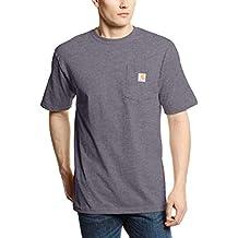 Carhartt Workwear Pocket Camiseta hombre - Carbon Heather