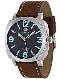 Reloj Marea Caballero B54074/2 Correa de cuero Sumergible 30 mm