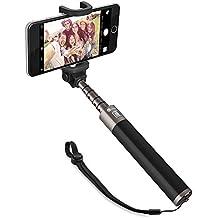 TaoTronics Selfie Stick Selfie Stange Stab Monopod Bluetooth 30 Stunden lang einsetzbar aus Alu für iPhone 6 6s Samsung Sony Smartphones