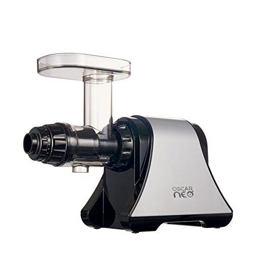 Extracteur de Jus Oscar Neo DA 1200, Slow Juicer - Extracteur de Jus Horizontal, Pression à froid pour Jus de Fruits, Légumes, Herbe de Blé - Extracteur Lent Masticateur, Moteur Silencieux - Sans BPA