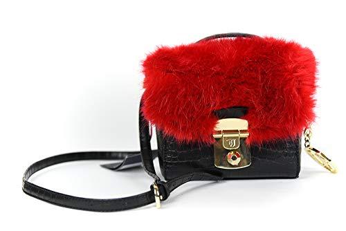 Trussardi Jeans - Jeans - Femme Noir et rouge PICCOLA