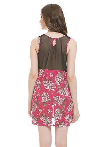 Clovia - Chemise de nuit - Femme Rose