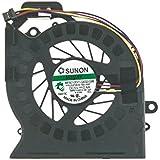 Ventilador - 643353-001 compatible con HP-Compaq Pavilion dv6-6000 | dv6-6070ep | DV6-6090es | DV6-6B13SS | DV6-6B15 | DV6-6B15SS | dv7-6000 | DV7-6090 | DV7-6090ES y part number 650797-001 | MF60120V1-C180-S9A
