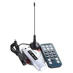 eSecure - DVB Clé USB TNT TV PC portable TUNER - Récepteur et Enregistreur - Supporte Windows 7/Vista/XP