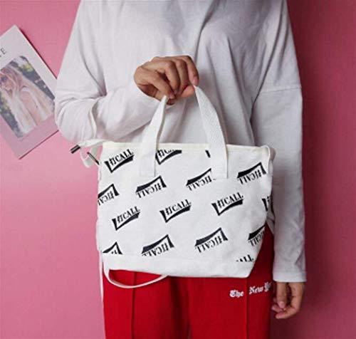 vas Crossbody Schulter Pendler Tote Bag Large-Capacity-Einkaufstasche Umweltfreundliche Tote Bag ()