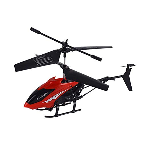 LPRWEC Widerstand gegen fallende Könige Übergroße ferngesteuerte Flugzeuge 3,5 durch Fernbedienung Charging Rise fliegen Luftfahrtmodell Kind Charging Spielzeug,Red - Lego-kits Armee