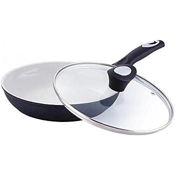 this item bergner bg6669 ceramic frying pan with glass lid - Ceramic Frying Pan