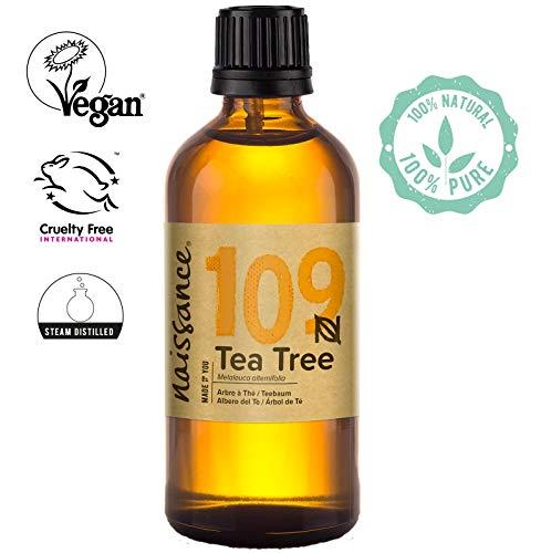 Naissance Aceite Esencial de Árbol de Té n. º 109 - 100ml - 100% Puro, vegano y no OGM