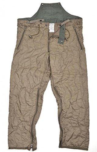 Originale Bundeswehr Unterzieh Stepphose Kälteschutzhose Anglerhose Nässeschutz Oliv Größe (Zombie Kostüm Wanderer)