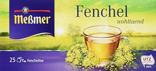 Meßmer Fenchel 25 Teebeutel, 75 g