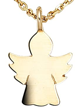 JOBO Anhänger Schutzengel Engel 585 Gold Gelbgold