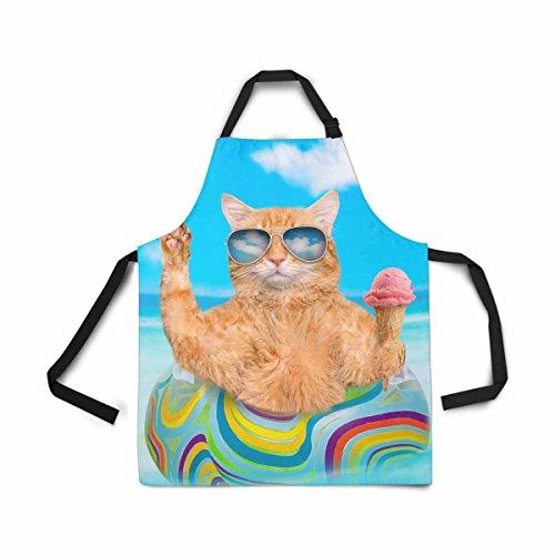 InterestPrint Gafas de sol para gato