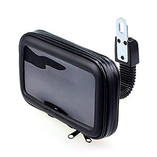 Preisvergleich Produktbild PYXZQW wasserdichte Universal Bike Motorradhalterung Fall mit empfindlichem Touchscreen für iOS X iOS 8 / 7 / SE / 6S / 6 bis zu 5, 2 Zoll, M