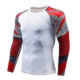 Felpe Tumblr Uomo,Hanomes,Camouflage Striscia Girocollo,Maniche Lunghe Sweatshirt degli Uomini Jogging Traspirante Sudore T-Shirt da Uomo Shirts Camicia Camicie Polo Taglie S/M/L/XL/2XL/3XL