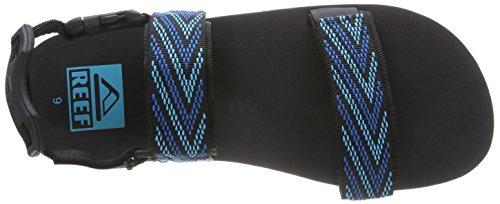 Reef Convertible, Tongs homme Bleu (Black/Blue)
