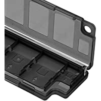 Sharplace Cajas de Almacenamiento Tarjeta de Memoria 10 en 1 Protectora Sony PS Vita PSV 2000 -negro