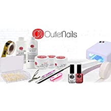 Kit completo Geles LED/UV con lámpara UV 36W / Kit completo gel de uñas
