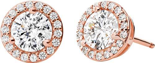 Michael Kors Damen-Ohrstecker 925er Silber One Size Rosé 32010070