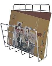 Planet Stainless Steel Magazine Paper Holder - Rack