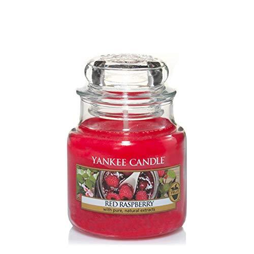 Yankee Candle Yankee candle kleine duftkerze im glas red raspberry brenndauer bis zu 30stunden