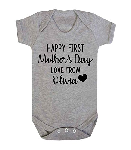 Ickle peanut buy ickle peanut products online in uae dubai personalised happy first mothers day love from baby vest romper baby gifts newborn gifts 2018 babywear sleep suit new mum gifts negle Choice Image