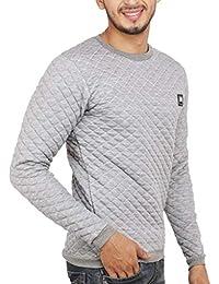 DELHITRADERSS® Imported Men's Cotton Winter Woolen Sweatshirt, t Shirt(Size-Free Size)(Grey)