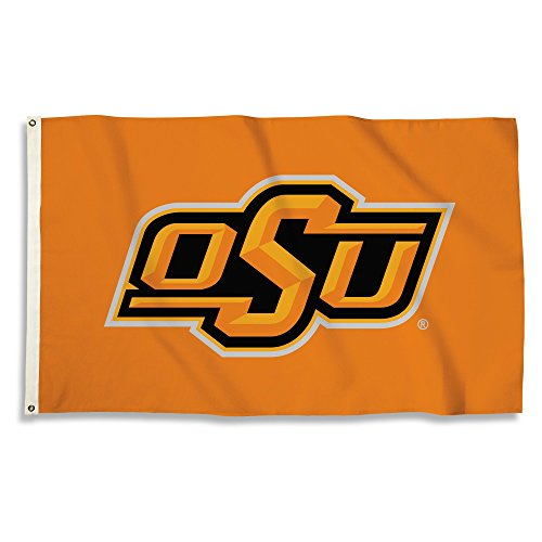 BSI NCAA Oklahoma State Cowboys Unisex NCAA 3 x 5 Fuß Flagge mit Ösen, Orange, One Size