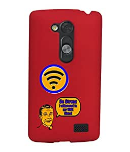 KolorEdge Back Cover For LG G3 D855 - Red (1543-Ke15155LGG3D855Red3D)