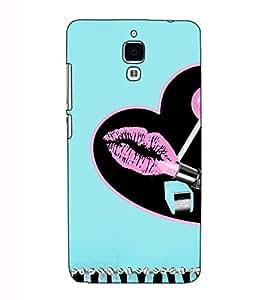 Fuson Designer Back Case Cover for Xiaomi Redmi Mi 4 :: Redmi Mi 4 (Lipstic theme)