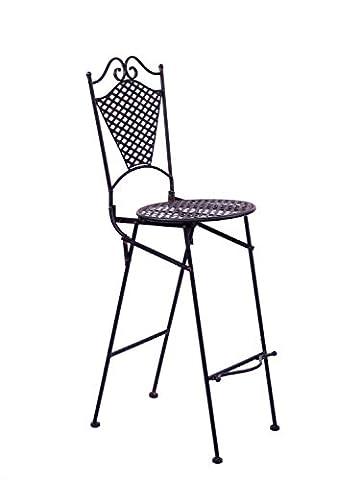 Chaise de jardin Meubles Fer Meubles de jardin Tabouret de bar style antique de