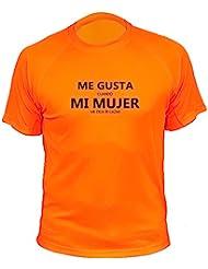 Camiseta de caza, Me gusta mi mujer - Regalos para cazadores