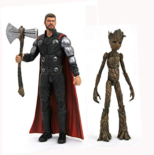 Marvel Comics JAN188712 Action-Figur, Verschiedene - Action Thor Figur