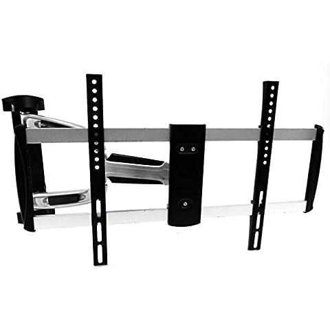 Störch - Soporte de pared para televisores (diseño ultraplano de sólo 1,5 cm de fijación a la pared, universal, soporta hasta 30 kg, para televisores de 12 a 28 pulgadas, estándar VESA) VESA
