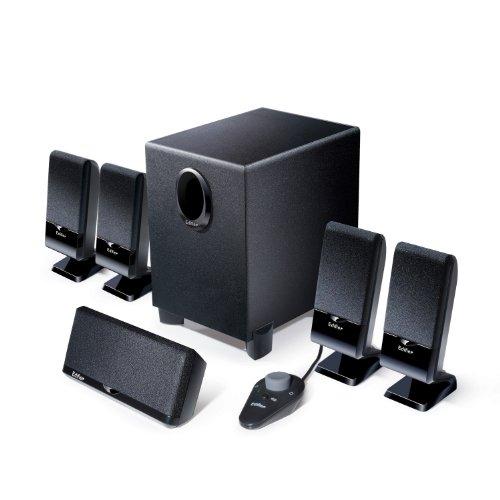 EDIFIER M1550 5.1 Lautsprechersystem (26 Watt) mit Kabelfernbedienung