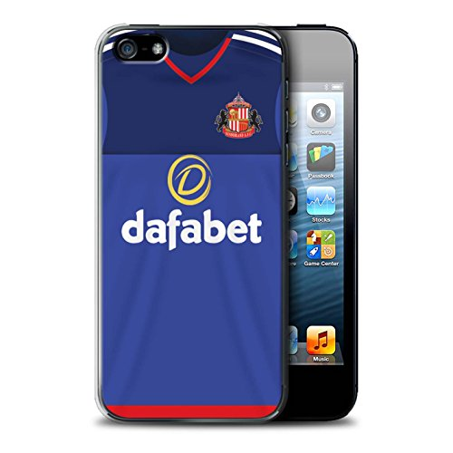 Offiziell Sunderland AFC Hülle / Case für Apple iPhone 5/5S / Pack 24pcs Muster / SAFC Trikot Home 15/16 Kollektion Torwart