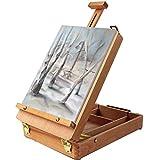 Chevalet - 36cm Chevalet de Table Repliable pour le Dessin et la Peinture avec...