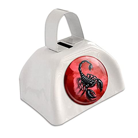 Scorpion Bug Insect White Cowbell Cow Bell