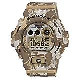 Casio - GD-X6900MC-5ER - G-Shock - Montre Homme - Quartz Digital - Cadran Camouflage Marron - Bracelet Résine