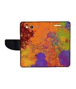 KolorEdge Printed Flip Cover For Samsung Galaxy S3 Neo Multicolor - (45KeMLogo11467SamS3Neo)